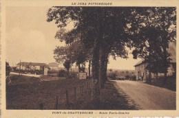 39 Vers CHAMPAGNOLE  Route Au PONT De GRATTEROCHE Ses 2 HOTELS  ETIEVANT Et CHEVAL BLANC Attelage - Francia