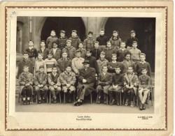 PHOTO 24 X 18 Cm GROUPE SCOLAIRE - Lycée Buffon 16 Boulevard Pasteur PARIS 15° : Classe  MATH 2 1955/56 - Personnes Identifiées