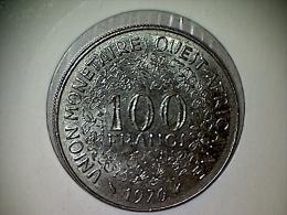 Afrique De L´Ouest 100 Francs 1976 - Monnaies