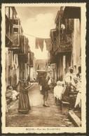 BISKRA Rare Rue Des Ouleds'Naïls (Richardet) Algérie - Biskra