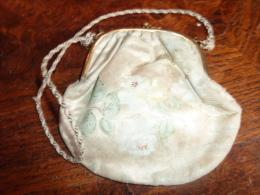 BOURSE  SOIE PEINTE MAIN - Purses & Bags