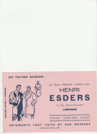 -  BUVARD Rose - Vêtements Henri ESDERS à LIMOGES - 020 - Textile & Vestimentaire