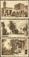 BISKRA X 3 Poste, Gédacha & Marché Mosquée (Richardet) Algérie - Biskra