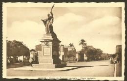 BISKRA Rare Statue Cardinal Lavigerie Place Lavigerie (Richardet) Algérie - Biskra