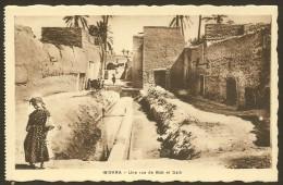 BISKRA Une Rue De Bab El Daib (Richardet) Algérie - Biskra