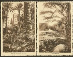 BISKRA X 2 Mosquée De Sidi M'Cid & Vieux Briska (Richardet) Algérie - Biskra