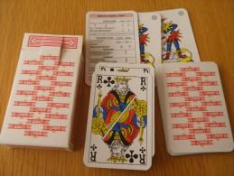 jeu de 52 cartes � jouer  - BIERES BRASSERIES WIEL'S