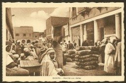 BISKRA Marché Aux Dattes (Richardet) Algérie - Biskra