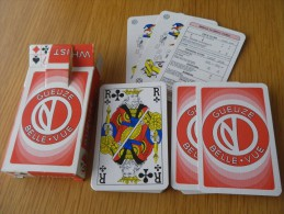 jeu de 52 cartes � jouer  - BIERES BRASSERIES GUEUZE BELLE VUE