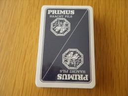 jeu de 52 cartes � jouer  - BIERES BRASSERIES PRIMUS HAACHT PILS