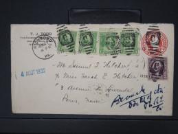 ETATS UNIS - ENTIER POSTAL DE RICHMOND POUR PARIS EN 1932 A VOIR LOT P3985