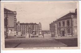 CP 1937 - MONTARGIS - Caserne Gudin - Entrée - PM - Montargis