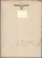 Papier à Lettre 3°Reich  Avec Aigle Et Croix Doré - 1939-45