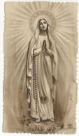 DIS294- SANTINO HOLY CARD - MADONNA DEL ROSARIO DI FATIMA - Santini