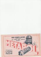 -  BUVARD METAPOL  - 028 - Papel Secante