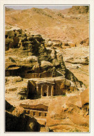 GIORDANIA  PETRA:   TOMBE        (NUOVA  CON DESCRIZIONE  DEL SITO  SUL  RETRO) - Giordania