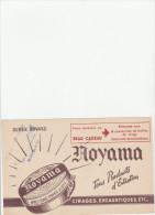 -  BUVARD Cirages HOYAMA à BOULOGNE Seine   - 029 - Schuhe