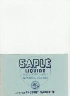 -  BUVARD Liquide SAPLE - 034 - Papel Secante