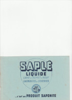 -  BUVARD Liquide SAPLE - 034 - Blotters