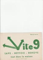 -  BUVARD VITE 9  - 036 - Wassen En Poetsen