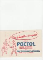 -  BUVARD PACTOL  - 037 - Pulizia