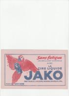 -  BUVARD Cire JAKO   - 038 - Produits Ménagers