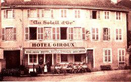 01 / ST TRIVIER DE COURTES / GRAND HOTEL DU SOLEIL D OR - Francia