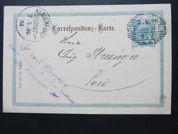 Postkarte GANZSACHE Klagenfurt - Loco Carl Pflüger 1900  //  D*16045 - 1850-1918 Imperium