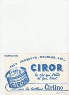 -  BUVARD Cire CIROR   - 039 - Pulizia