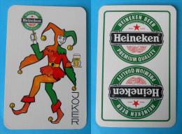 HEINEKEN BEER - Joker Card ( Famous Beer Brand ) * Poker Swap Playing Cards * Bière Bier Cerveza Birra - Playing Cards (classic)