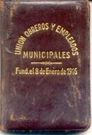 CARNET DEL SINDICATO UNION OBREROS Y EMPLEADOS MUNICIPALES AÑO 1966 U.O.E.M. MASCULINO BUENOS AIRES L'ARGENTINE ORIGINAL - Historical Documents
