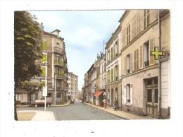 CPA : 94 - FONTENAY SOUS BOIS  Rue Notre Dame : Magasins - Immeubles - Voitures Années 1950/60 Animation Peu Commune - Fontenay Sous Bois