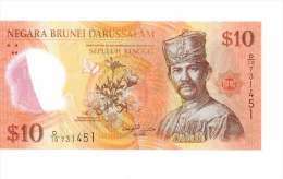 Brunei 10 Ringgit 2011 NEUF - Brunei