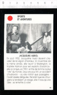 Jacqueline AURIOL / Aviation Aviatrice  //  01-ES/3 - Vecchi Documenti
