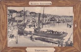 ¤¤   -  TROUVILLE   -   Carte à Système   -  Bateau Dans Le Port    -  ¤¤ - Trouville