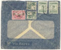 Niederl�ndisch Indien Brief 1933 nach Deutschland / Perfin Firmenlochung