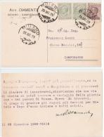 BOIANO ( CAMPOBASSO ) AVV. DIAMANTE - TESTATINA PUBBLICITARIA AUTOGRAFA -  1929 - Campobasso