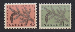 Norway 1962 Forest Service 2v ** Mnh (21385G) - Noorwegen