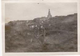 Photo 1917 MARVILLE (près Montmédy) - Une Vue, Soldats Allemands (A102, Ww1, Wk 1) - Frankreich