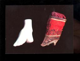 ROMANS Drôme 26100 : Musée De La Chaussure : Moulage D'un Pied Mutilé Chaussure à Tige Haute Chine XVIII Siècle - Romans Sur Isere