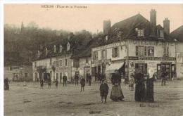 Nexon: Place De La Fontaine, Hôtel De La Poste, Belle Animation - France