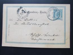 Postkarte GANZSACHE REICHERSBERG Am Inn - Rohitsch Sauerbrunn 1902  ///  D*16066 - 1850-1918 Imperium