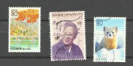 Japon N° 2922, 2941, 2988 Cote 3.25 Euros - 1989-... Emperador Akihito (Era Heisei)