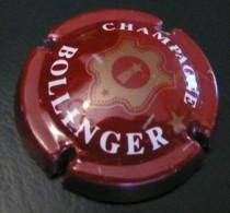 Bollinger - Bordeaux Or Tres Pale - Lettres Epaisses - Capsule De Champagne - Bollinger