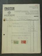 Facture Invoice Kredietnota Flora Protex Antwerpen Eierenmarkt  1937 Horticulture - Belgique