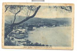 Diano Marina Panorama Da Capo Berta 1930 Viaggiata F.p. - Imperia