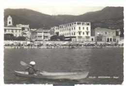 Spotorno Bagni Viaggiata Del 1945 F.p. Condizioni Perfette - Savona