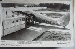 AEROPORT / AIRPORT / FLUGHAFEN         GATWICK AIRPORT - Aerodrome