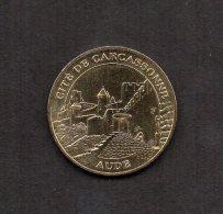 MEDAILLE TOURISTIQUE MONNAIE DE PARIS 2004 : LA CITE DE CARCASSONNE. AUDE . - Monnaie De Paris