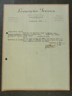 Facture Invoice Kredietnota France Lemoyne Frères Bulbes Ollioules 1926 - France